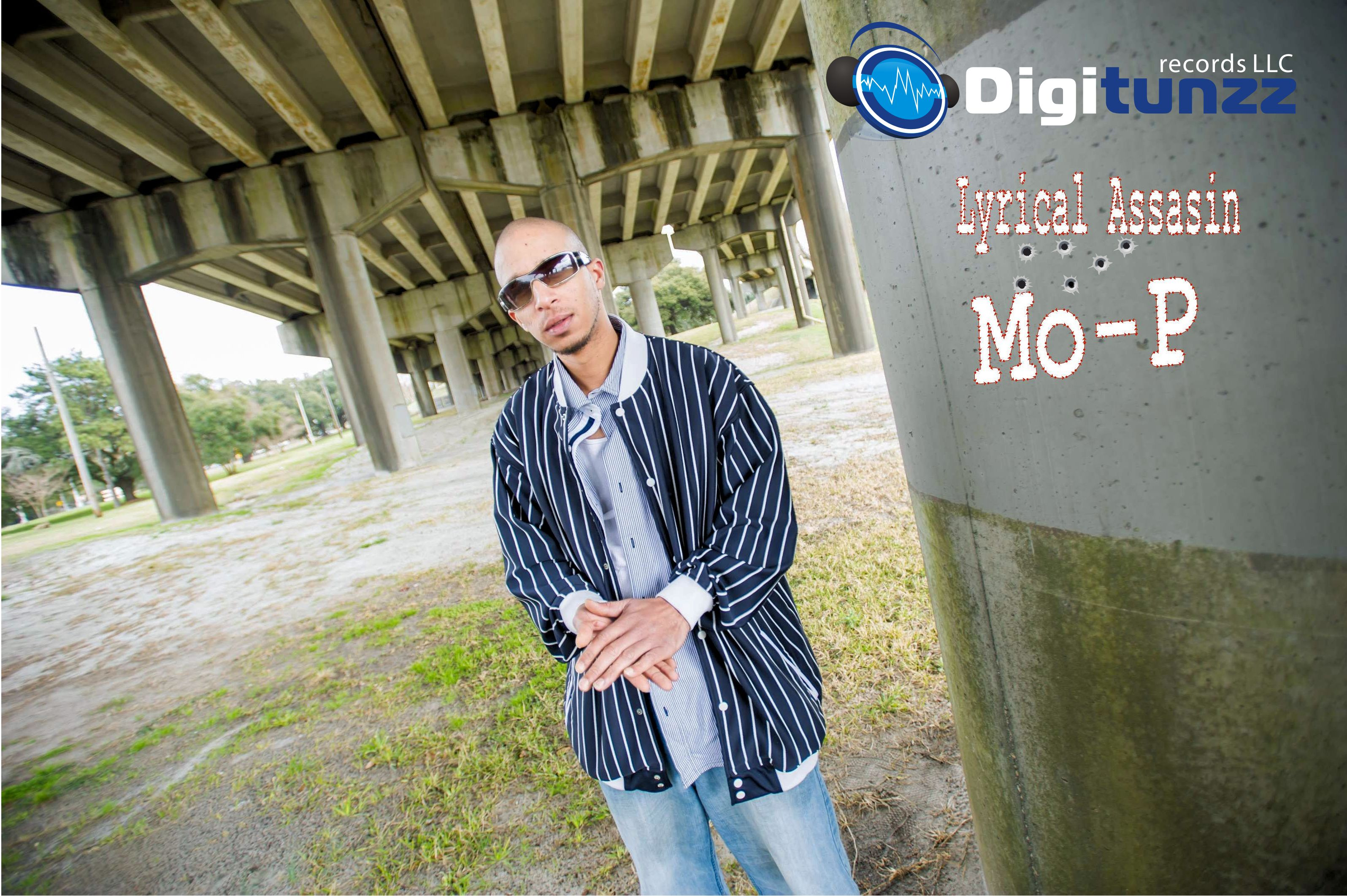 Mo-P we call him the lyrical assassin because that is exactly what he is and does his flow mixed with speed and  accuracy is second to none one of the nicest guys i know and an accomplished piano player from NC Born and Breed star.